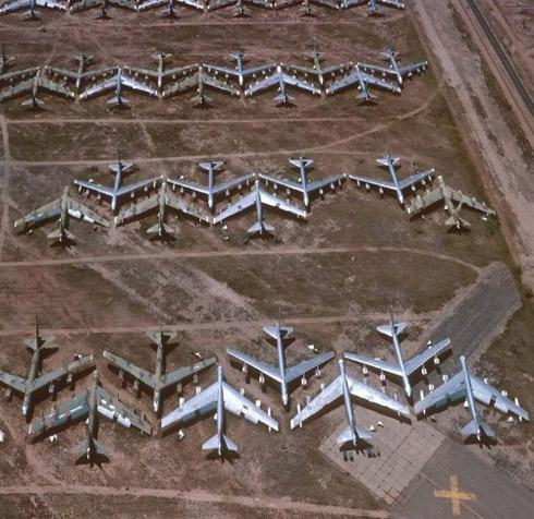avioes 4 Fotos: Depósito de Aviões de Guerra dos Estados Unidos