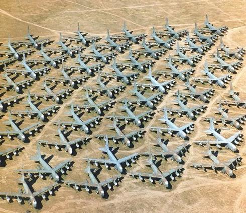 avioes 5 Fotos: Depósito de Aviões de Guerra dos Estados Unidos