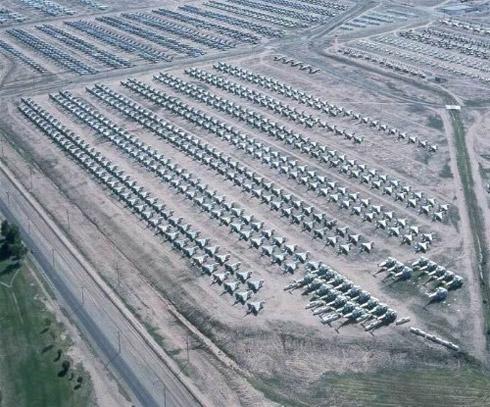avioes 71 Fotos: Depósito de Aviões de Guerra dos Estados Unidos