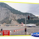 avião, boeing, gibraltar, aeroporto, fotos
