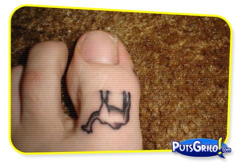 tatuagem, piercing, pés, mario, george bush