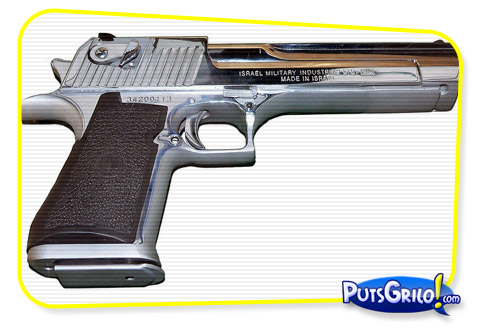 Desert Eagle: A Pistola Mais Poderosa do Mundo