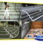 Fotos: Propagandas Criativas em Escadas
