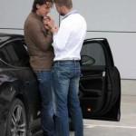 Flagra: Ibrahimovic e Piqué: Será?