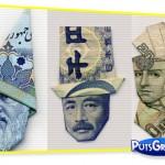 Fotos: Origami Feito de Dinheiro