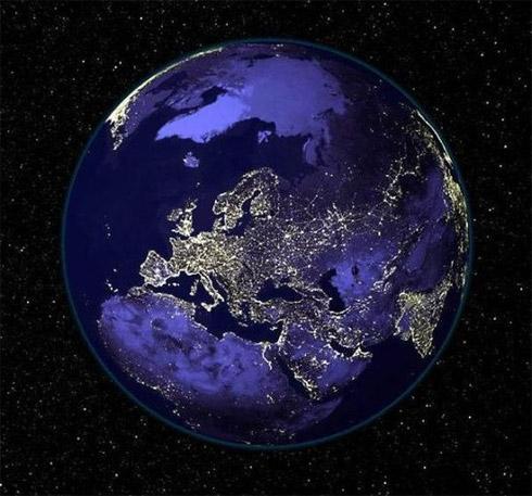 Fotos: Planeta Terra à Noite
