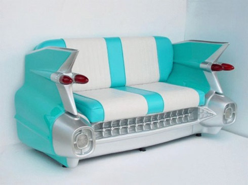 Fotos: Cadeiras e Sofás Feitos de Carros