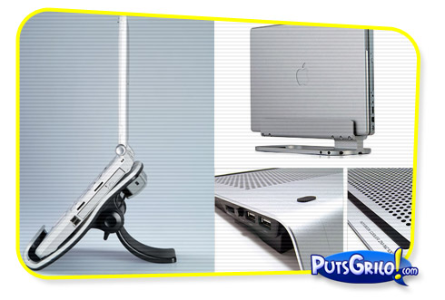 laptop stand 1 Design: Mesas e Apoios Para Notebook