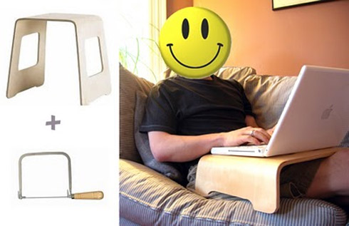 laptop stand 4 Design: Mesas e Apoios Para Notebook
