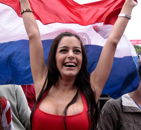 Copa do Mundo 2010: Fotos de Larissa Riquelme