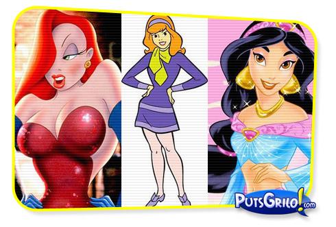 Desenhos: As Garotas e Mulheres Mais Sensuais