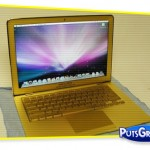 Apple MacBook Air de Ouro com Diamantes