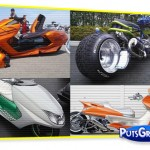 Motos e Scooters Tunados e Rebaixados