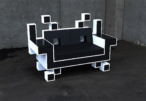 Video Games Inspira Design de Móveis
