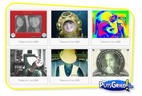 Cameroid: Crie Montagens de Fotos Engraçadas com sua Webcam