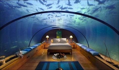 Turismo: Hotel Tem Suíte Debaixo do Oceano
