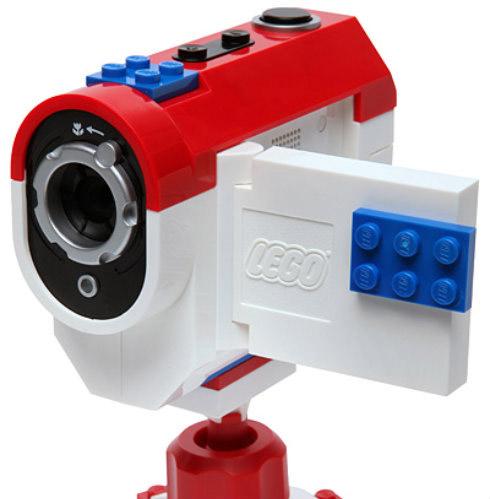 Câmera Filmadora Lego Filma em Stop Motion