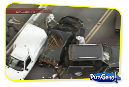 Flagra: Perseguição da Polícia a Bandido em São Paulo Ao Vivo
