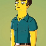 Dr. House [Hugh Laurie] em Os Simpsons