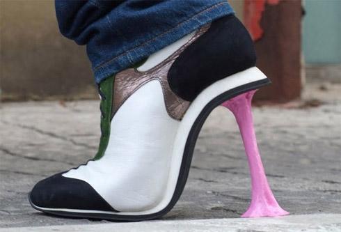 Sapatos de Design Bizarro