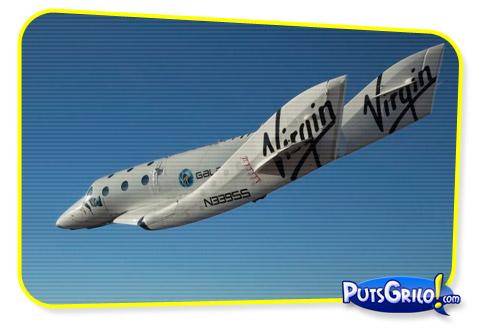 Turismo Espacial: Primeiro Vôo Solo da Nave da Virgin Galactic