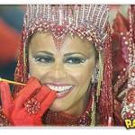 Viviane Araújo: A popozuda em preparação para o Carnaval 2011