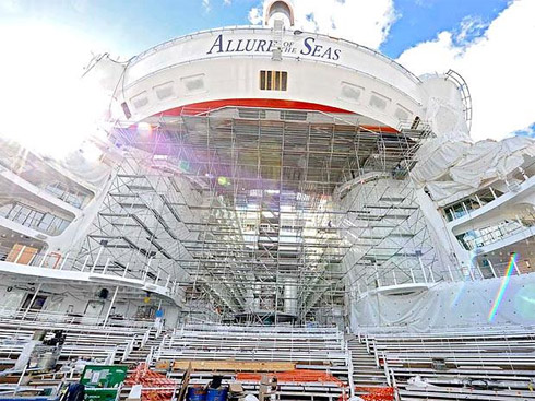 Turismo: Allure of the Seas, O Maior Navio de Cruzeiro do Mundo
