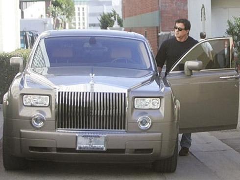 Celebridades de Hollywood e seus Carros