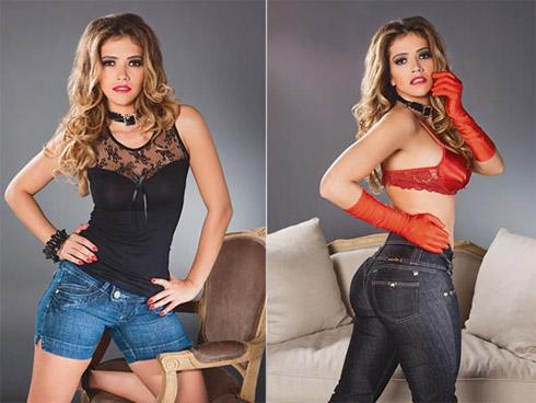 Fani Pacheco em Fotos Sexy Para Grife