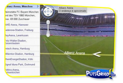 Estádios da Alemanha no Google Street View