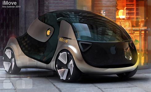 Carro Conceito da Apple: iMove