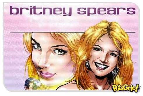 Britney Spears em Quadrinhos [Fotos]