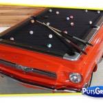 Ford Mustang Vira Mesa de Sinuca