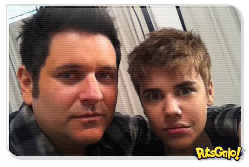 Justin Bieber corta o cabelo e fica sem franja