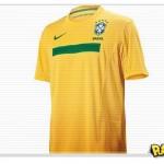 Fotos da Nova Camisa da Seleção Brasileira