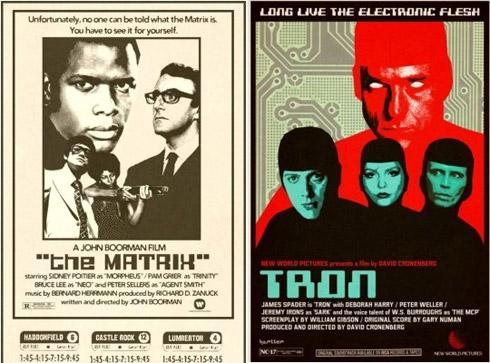 Filmes com atores trocados nos cartazes