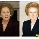 Filme A Dama de Ferro: Meryl Streep em foto como Margaret Thatcher