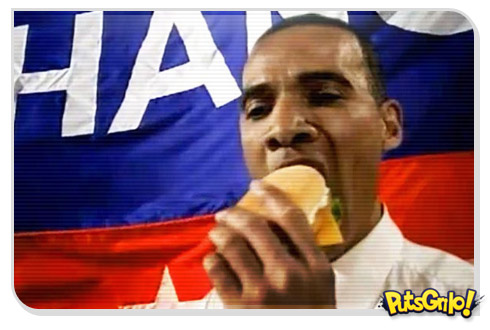 obama kfc 1 Propaganda de sanduíche com Obama banida na China
