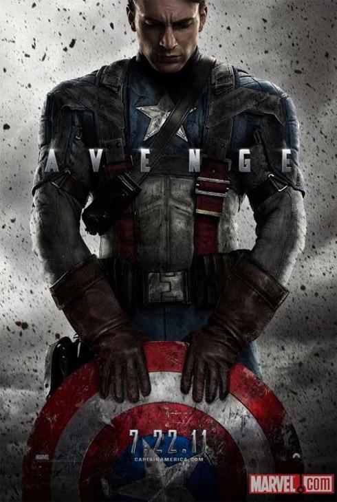 Filme Capitão América: poster oficial divulgado
