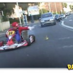 Super Mario Kart da vida real [vídeo]