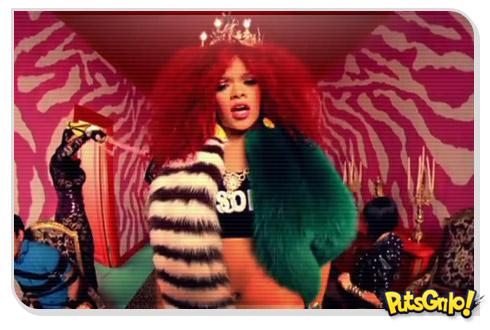 Rihanna em Polêmico Clipe da Música S&M