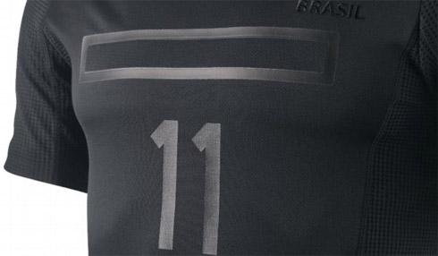 A camisa preta da Seleção Brasileira de Futebol