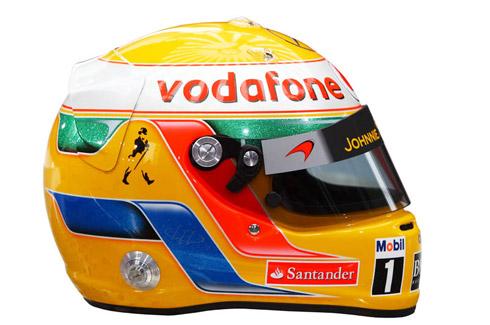 Fórmula 1 2011: Os capacetes de todos os pilotos