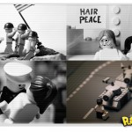 Cenas históricas representadas em Lego