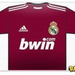 Real Madrid apresenta camisa grená