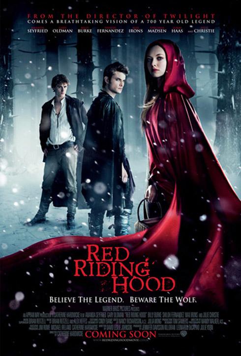Filme A Garota da Capa Vermelha divulga poster e novas fotos