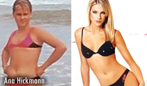 Fotos de celebridades antes e depois da fama