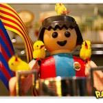 Messi vira Playmobil na Páscoa