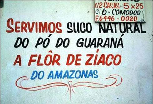 Placas com erros de português bizarros