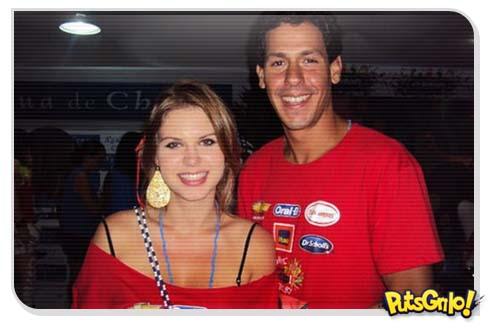 Carolinie Figueiredo e o namorado Guga Coelho